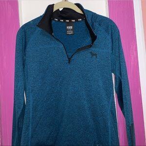 Victoria secret ultimate sport  quarter zip hoodie